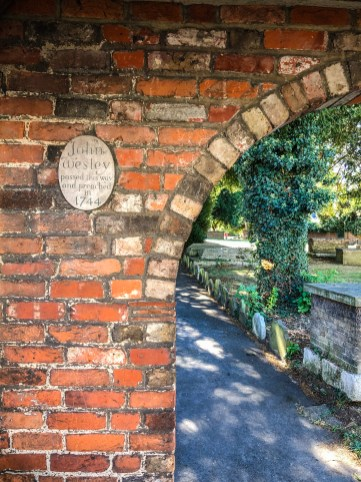 Egham, UK - John Wesley passed this way and preached in 1744