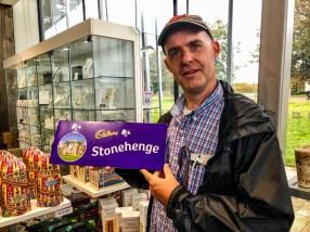 Stonehenge chocolate
