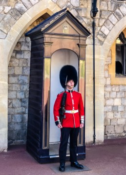 Windsor castle guard