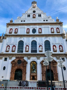 St. Michael's Church in Munich, Germany