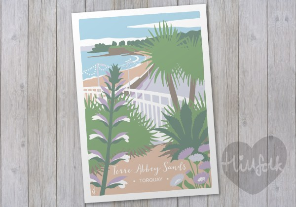 abbey sands print