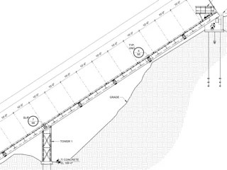 outdoor elevator lift options hill hiker inc S Beam hill hiker outdoor elevator drawing profile for i beam seismic zone 4 engineered project