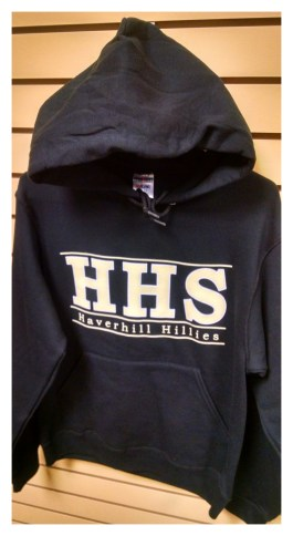 2015/2016 Hoodie Front Black: SOLD OUT