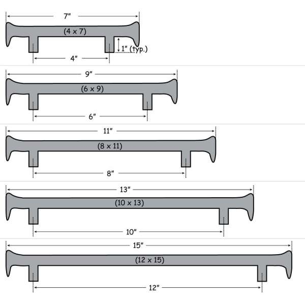 RR Spike Handle Size
