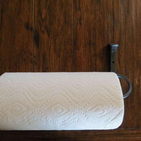 Hammered Square Paper Towel Holder