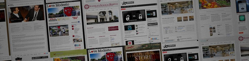Custom Website Design - Modesto Website Design
