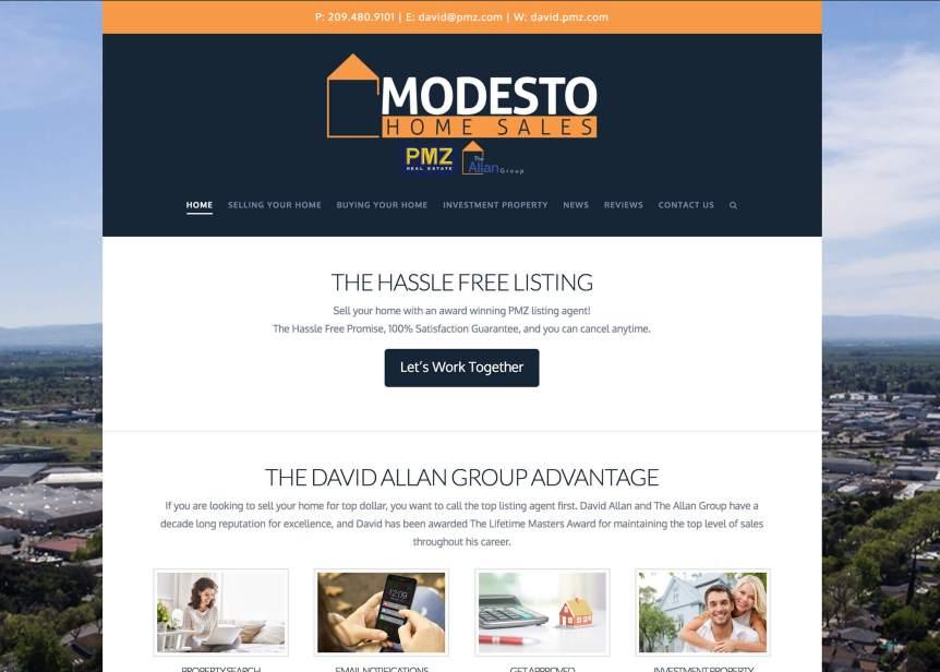 Modesto Home Sales David Allan PMZ Realtor