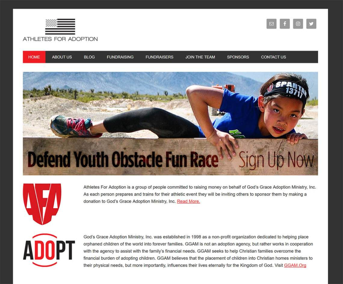 Athletes For Adoption – Building Gods Kingdom One Child at a Time