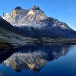 智利百內國家公園 - Cuernos 倒影