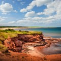 Red cliffs of Prince Edward Island. Atlantic coast at East Point, PEI, Canada. Photo: Thinkstock.com
