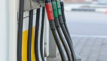 Fuel nozzles at a gas station. Photo: Thinkstock.com
