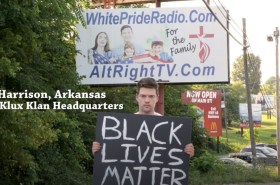 Black Lives Matter attacked by racists