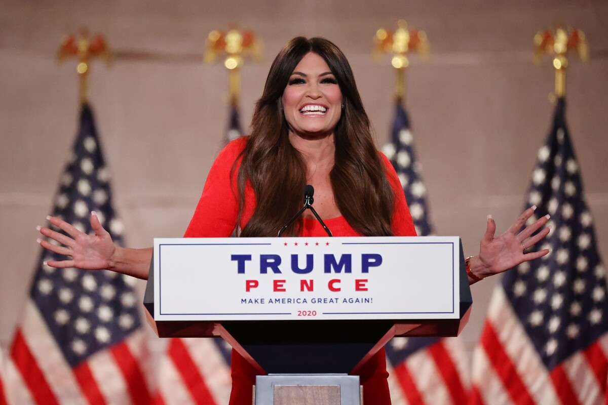 Kimberly Guilfoyle accused of sexual harassment
