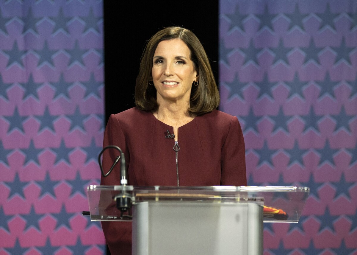Martha McSally won't say she's proud to support Trump