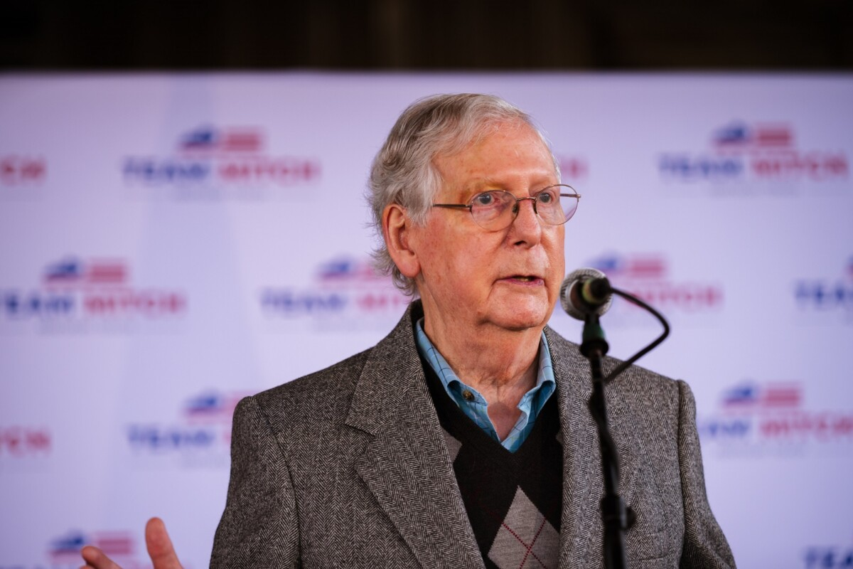 Mitch McConnell nasty sneer at Hillary Clinton