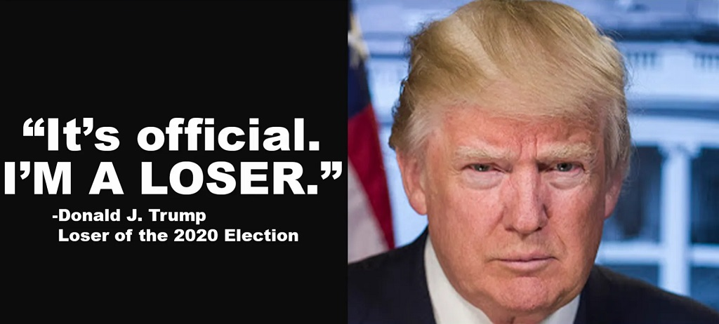 I'm a loser, says Trump quote on fake campaign site
