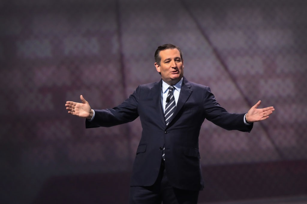Ted Cruz fundraises off election overturn
