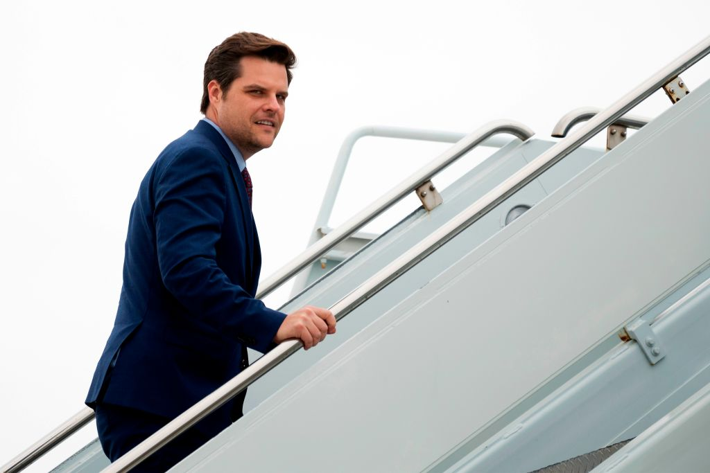 Q-anon doesn't mind that Matt Gaetz is accused of taking underaged girl across state lines.