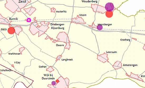 Overberg, Maarsbergen en station mogen toch uitbreiden