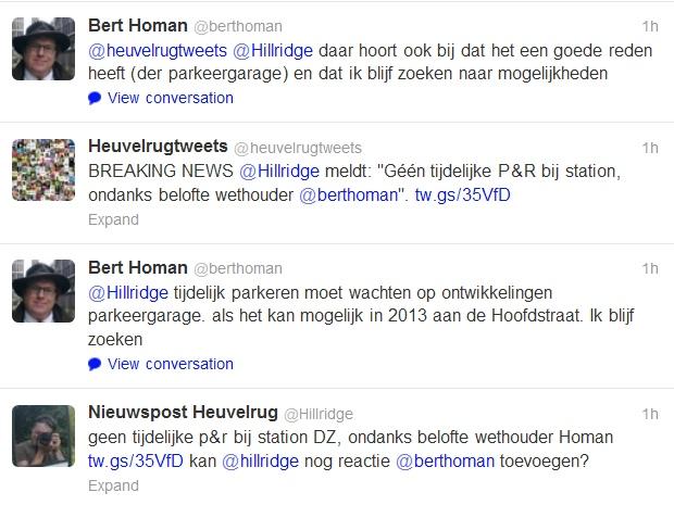 tweetshomanhillridge