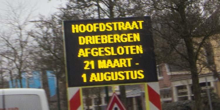 Bussen rijden tot 1 augustus een stukje om, in Driebergen