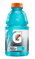 Gatorade G Zero Thirst Quencher, Glacier Freeze, 32 oz Bottle