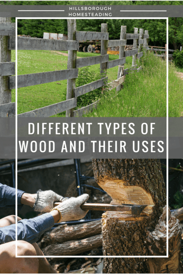 how to use different types of wood