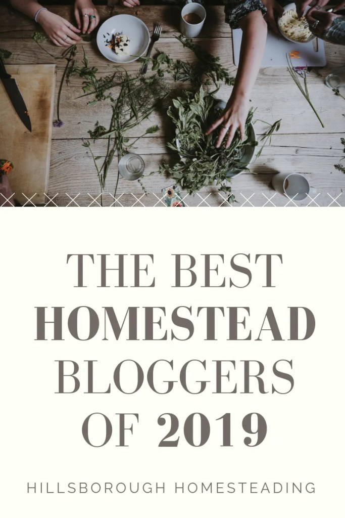 the best homesteading blogs and bloggers of 2019