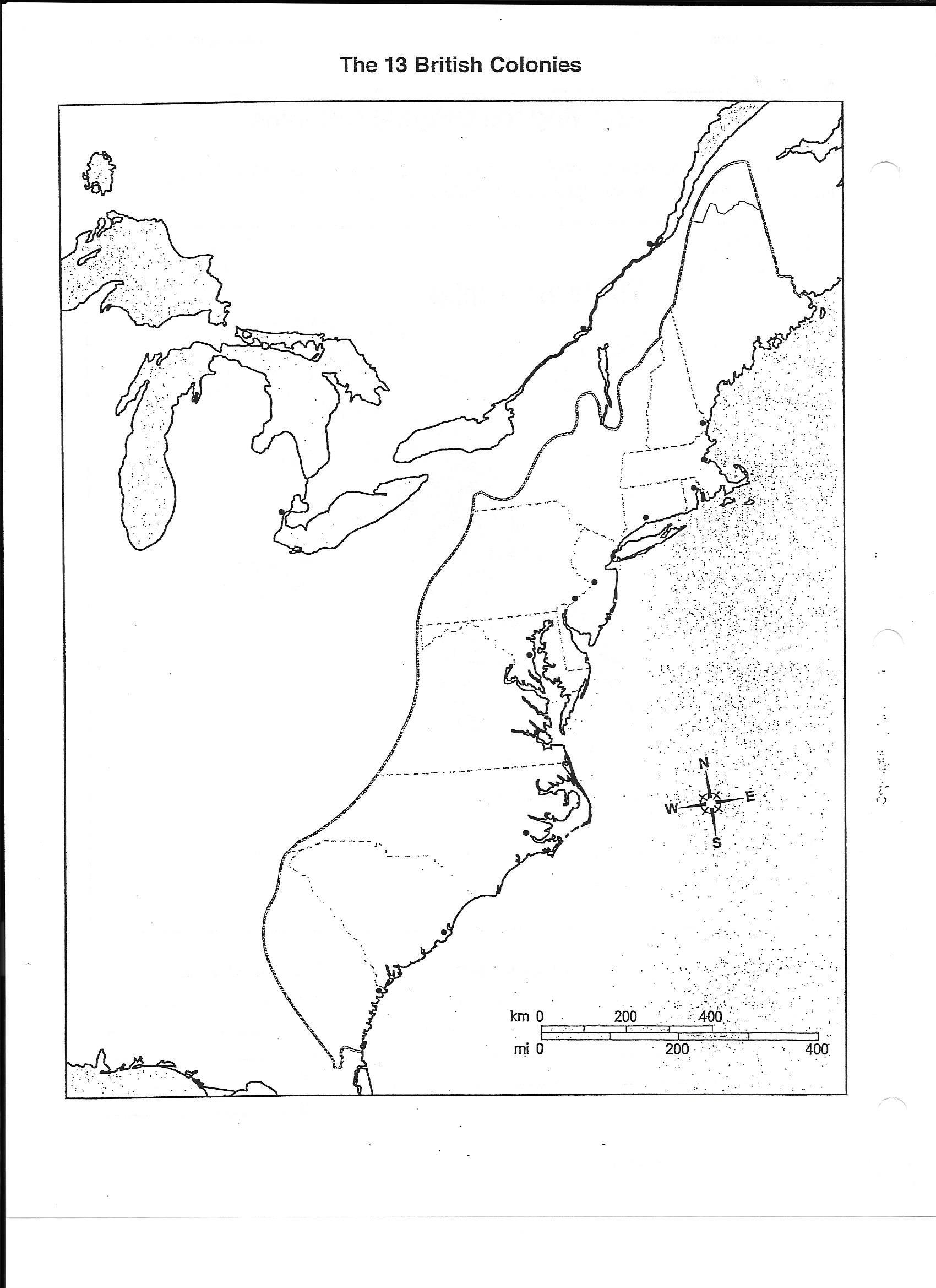 Worksheet 13 Colonies Map Worksheet Worksheet Fun