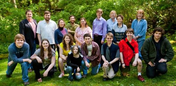 2011 Graduates and Staff