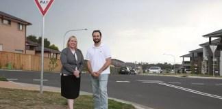 Daniel Mittiga with Mayor Byrne