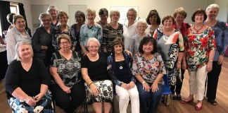 SI Fashion show photo Members of Soroptimist International of the Hills and SI Brisbane Water