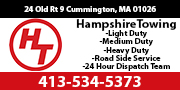 Graphic for Hampshire Towing located in Cummington, MA.
