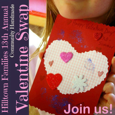 Logo for Handmade Valentine Swap