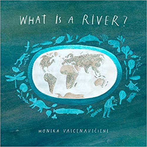 "Book cover for ""What is a River?"""