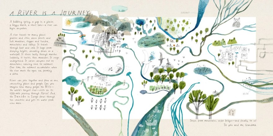 What is a River? by Monika Vaicenavičienė