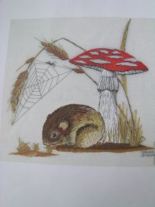 Little mushroom and mouse