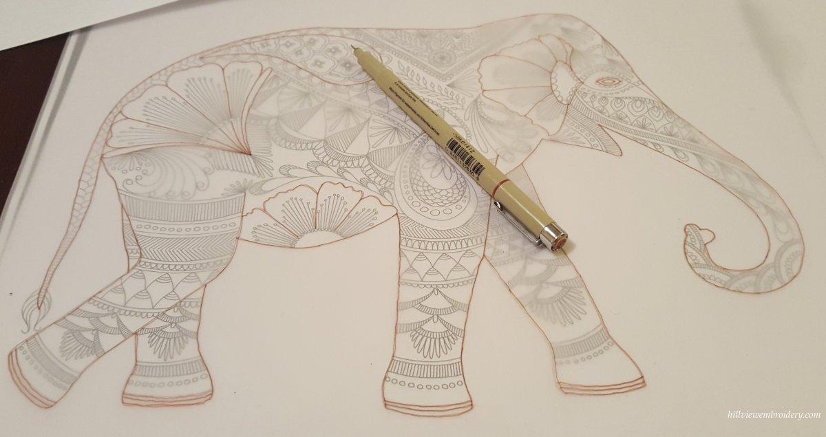 traced design