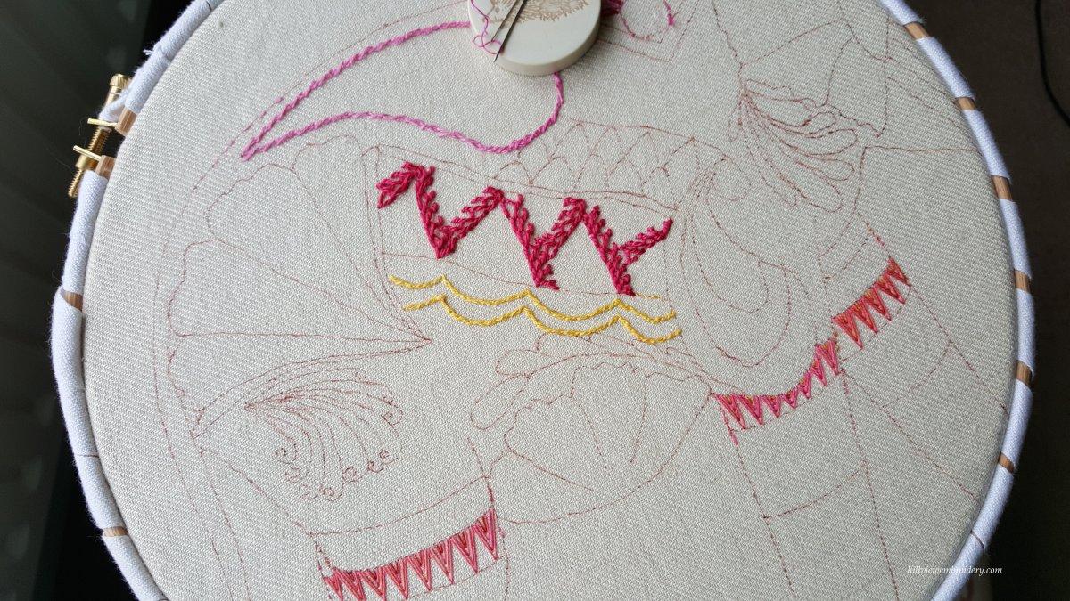 stitch 27 bonnet stitch 2