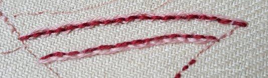 Pekinese Stitch sample 1