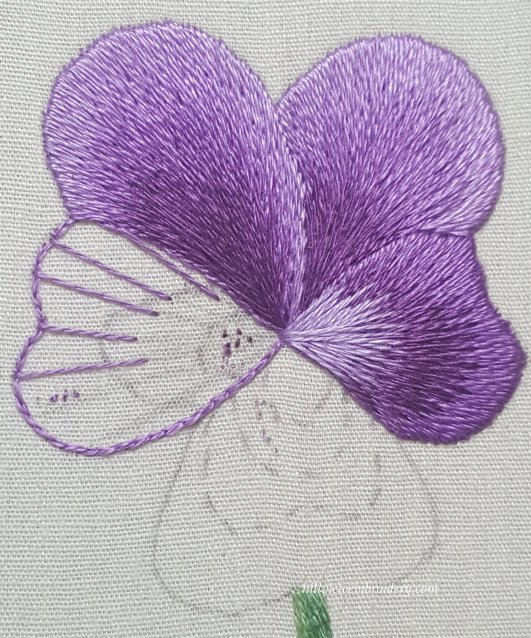three petals complete