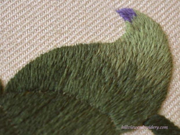 finished-long-and-short-stitch-leaf