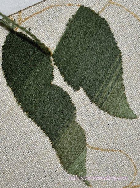 working laid stitch