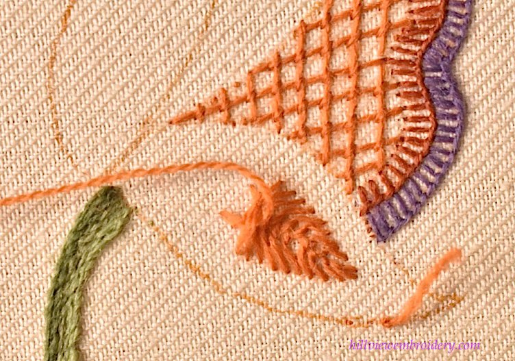 starting-cretan-stitch