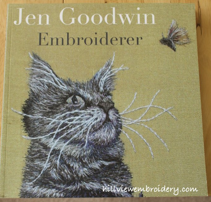 The beautiful cover of Jen Goodwin's exhibition catalogue