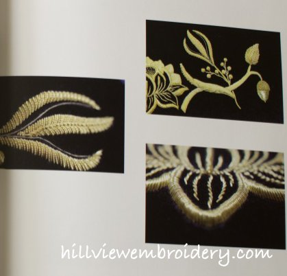 An example of some of Jen's goldwork