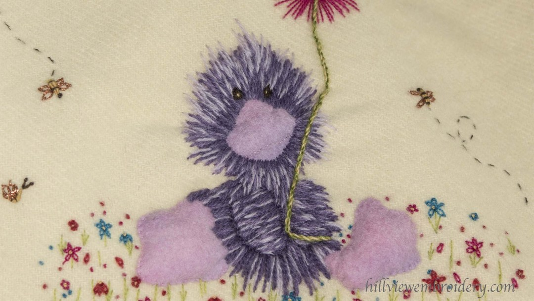 A New Baby Blanket – And A Purple Duck!