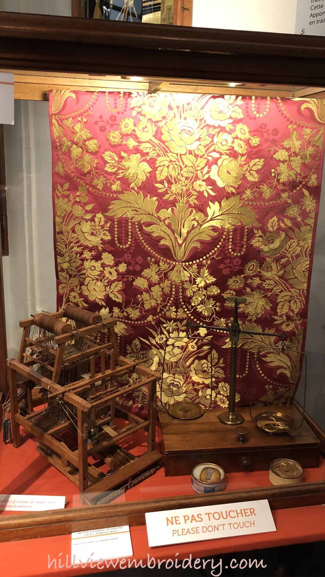 worked example of silk weaving