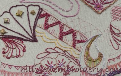 Elephant Stitch Sampler update
