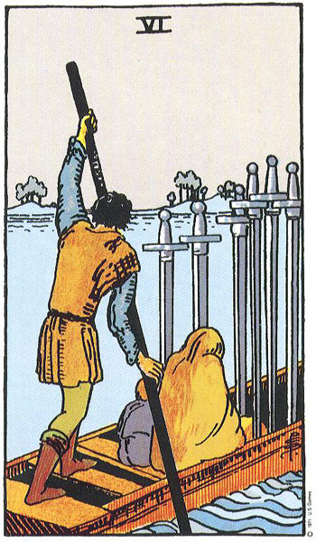 Smith's Six of Swords - from Hi/Lo Brow